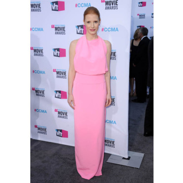 Critic's Choice Awards Jessica Chastain en Balenciaga