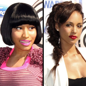 Alicia Keys et Nicki Minaj aux BET Awards