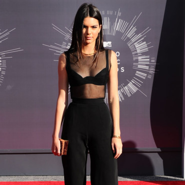 Kendall Jenner lors de la cérémonie des MTV Video Music Awards à Los Angeles le 24 août 2014a