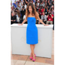 Maïwenn looks photocall Cannes 2011 robe bleue