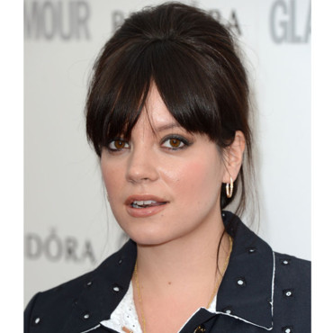 Lily Allen Glamour Women of the Year Awards mai 2012 façon Amy Winehouse