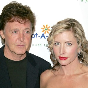 Paul McCartney et Heather Mills