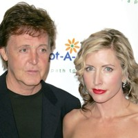 Photo : Paul McCartney et Heather Mills