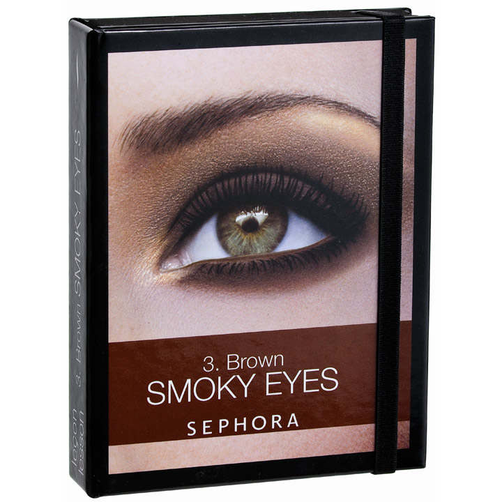 Tendance maquillage 2010 le smoky eyes black et brun smoky eyes kit smoky brown sephora - Maquillage smoky eyes ...