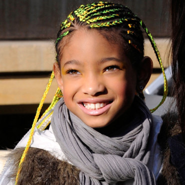 Willow Smith et sa coiffure flashy