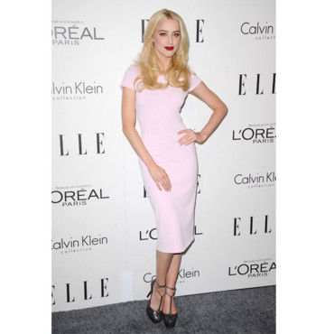 Ambre Heard au Elle Women Tribute