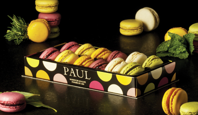 Bouquet de macarons Paul