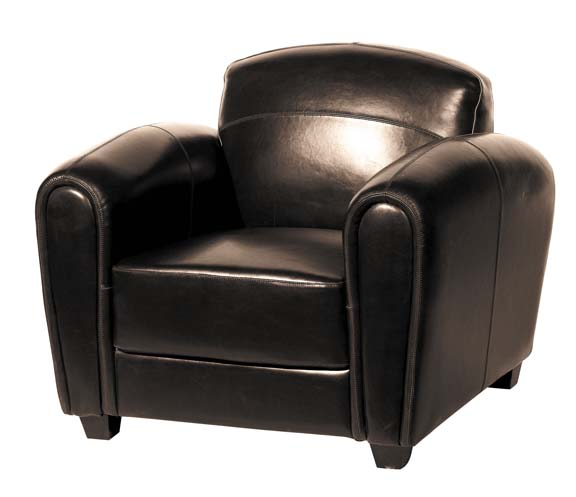 r novez un fauteuil en cuir astuces d co. Black Bedroom Furniture Sets. Home Design Ideas