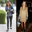 Ellen Pompeo top flop casual en ballerines vs chic en Michael Kors