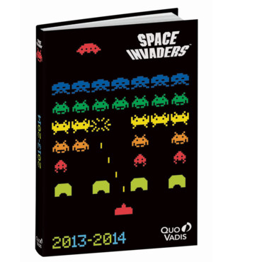 Agenda scolaire collection Space Invaders