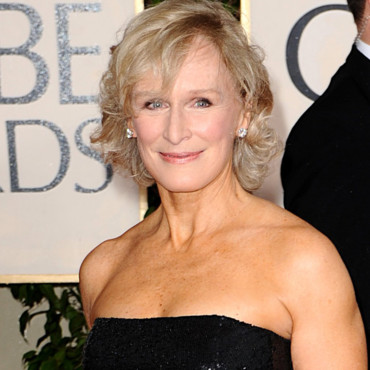 Glenn Close aux Golden Globes