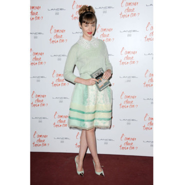 Louise Bourgoin- Look rétro