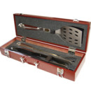 Le coffret luxe ustensiles barbecue Barbecue & Co