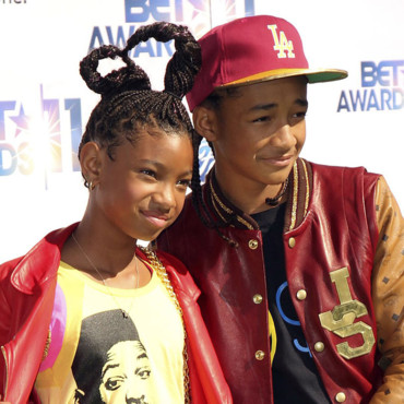 Willow Smith et Jaden Smith aux BET Awards