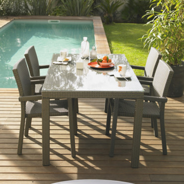 table de jardin albert futuna. Black Bedroom Furniture Sets. Home Design Ideas