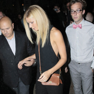 Gwyneth Paltrow et sa sacoche Coach