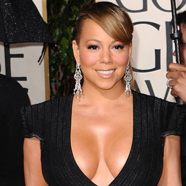 Mariah Carey aux Golden Globes