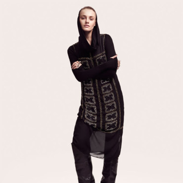 Collection H&M automne hiver 2010-2011 silhouette 1