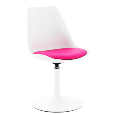 chaise de bureau rose fly ? table de lit a roulettes - Chaise De Bureau Fly