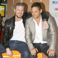 Photo : Eric Dane et Justin Chambers: c&#039;est beau l&#039;amiti ! 