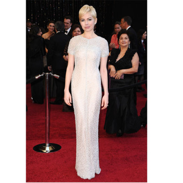 Robe blanche - Michelle Williams