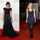 Top Flop British Fashion Awards Daisy Lowe Emma Roberts