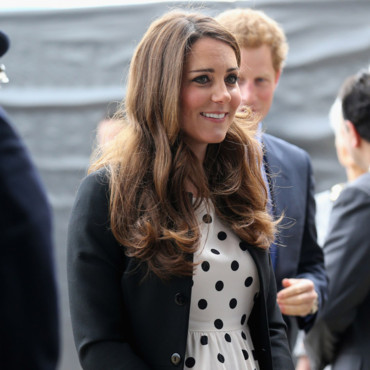 Kate Middleton le 26/04/2013 aux studios Warner Bros.