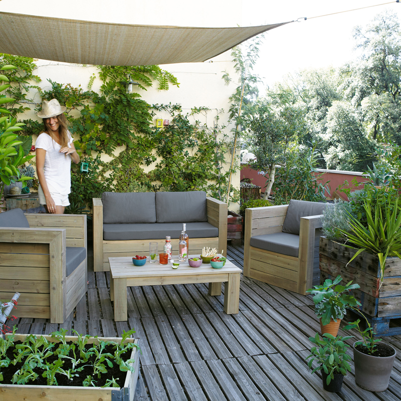 maisons du monde 32 ambiances outdoor d couvrir salon de jardin br hat maisons du monde. Black Bedroom Furniture Sets. Home Design Ideas