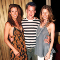 Photo : Kate Walsh, T.R. Knight et Ellen Pompeo, le trio de choc de Grey's Anatomy !