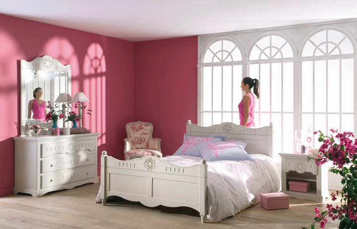 une d co romantique pour votre chambre tendances d co d co. Black Bedroom Furniture Sets. Home Design Ideas
