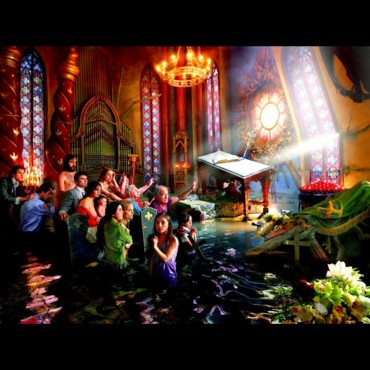 Cathedrale par David LaChapelle