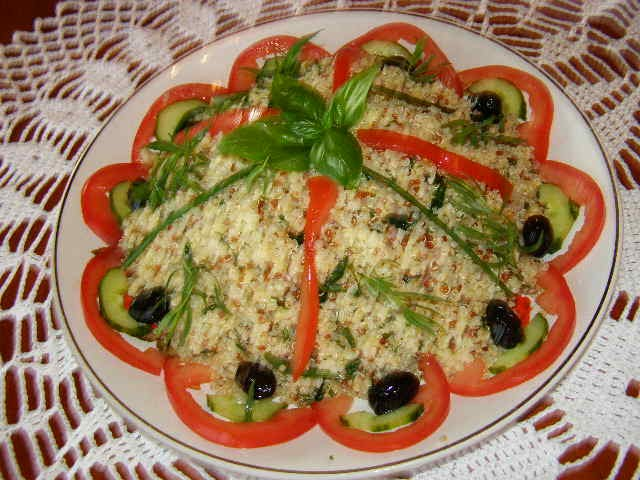 Quinoa gourmand en salade cuisine for Idee entree legere