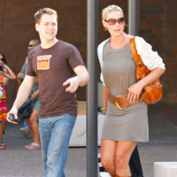 Photo : T.R. Knight et Katherine Heigl en vire shopping