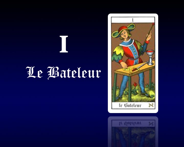 interpr tation des cartes de tarot gratuit carte de tarot 1 le bateleur astro tarots. Black Bedroom Furniture Sets. Home Design Ideas