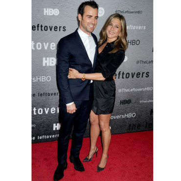 Justin Theroux et Jennifer Aniston à la première du NYU Skirball Center à New York City, le 23 Juin 2014.