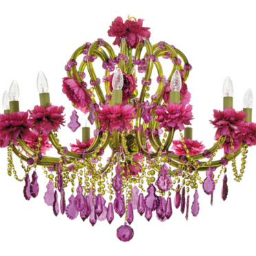 Lustre Merry Crystal - Objet Déco  :  interior design designer crystal art deco