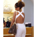 Rihanna et son sac Louis Vuitton