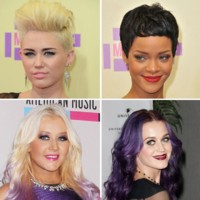 Miley Cyrus, Rihanna, Katy Perry... quelle coupe de cheveux leur va le mieux ?
