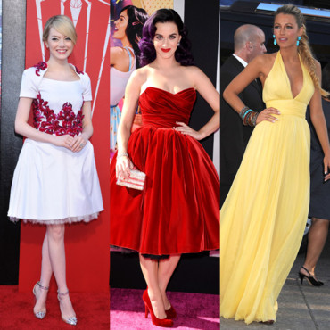 Emma Stone-Katy Perry-Blake Lively-best of mode