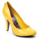 Otto glazed pu flash yellow de Rocket Dog