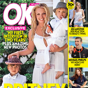 people : couverture magazine people Britney Spears