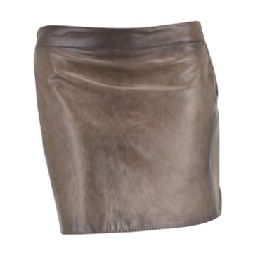 Jupe cuir Costume National