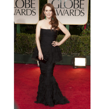 Golden Globes Julianne Moore en Chanel