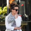Kate Beckinsale et son chignon flou dans les rues de Beverly Hills