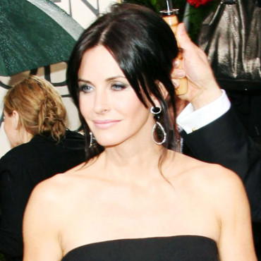 Courteney Cox aux Golden Globes