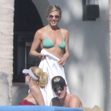 Jennifer Aniston en bikini au Mexique le 29 décembre 2013