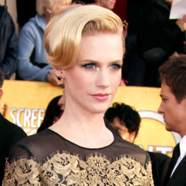 January Jones aux Screen Actor Guild Awards
