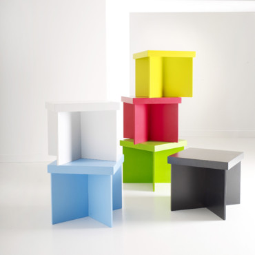Les tables basses Happy Colors de AM.PM.
