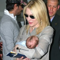 Photo : Cate Blanchett et son fils Ignatus Martin