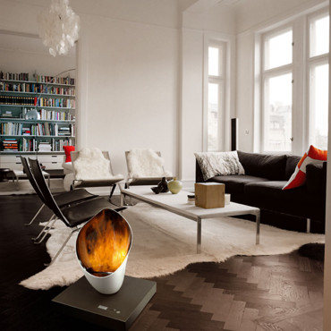 &quot;Burn out&quot;, design by Cdric Ragot, en faence et acier - Ren Brisach